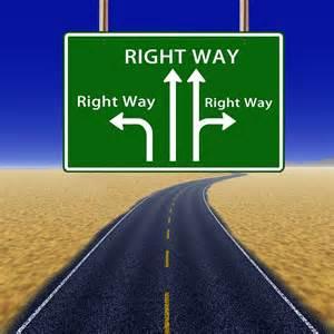 Op de goede weg… of niet